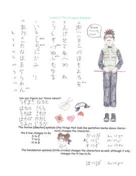 Naruto Jap. Lesson I: Hiragana
