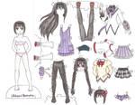 Akemi Homura Paper Doll