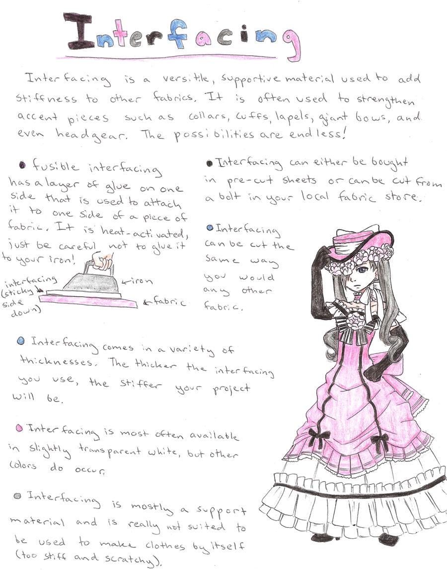Interfacing Tutorial by koumori-no-hime