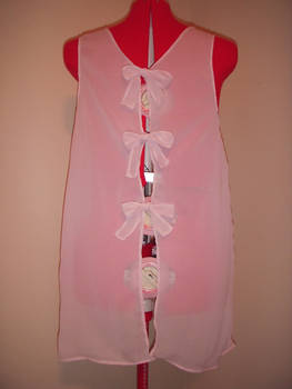 Pink Duster Back