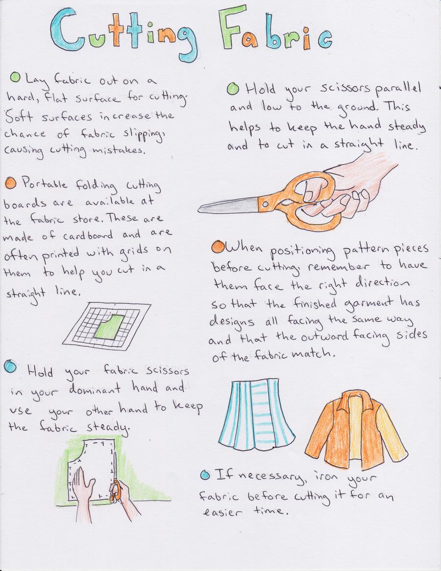 Fabric Cutting Tutorial