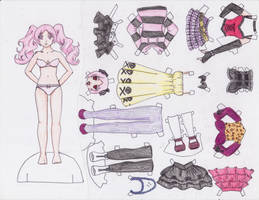 Megumi Shimizu Paper Doll