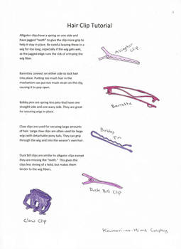 Hair Clip Tutorial