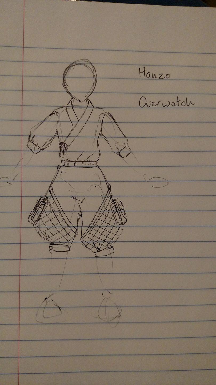 Hanzo Sketch