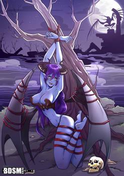 Demonic Self Bondage (Demon Monstergirl)