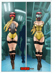Slave Suit Samus 2 by bondage-fan-comics