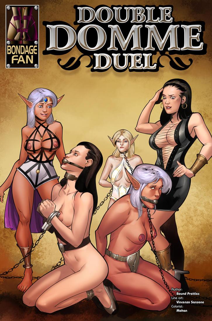Double Domme Duel - Clones in Chains by bondage-fan-comics