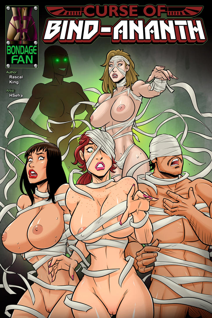 Curse of Bind-Ananth - Erotic Egypt by bondage-fan-comics