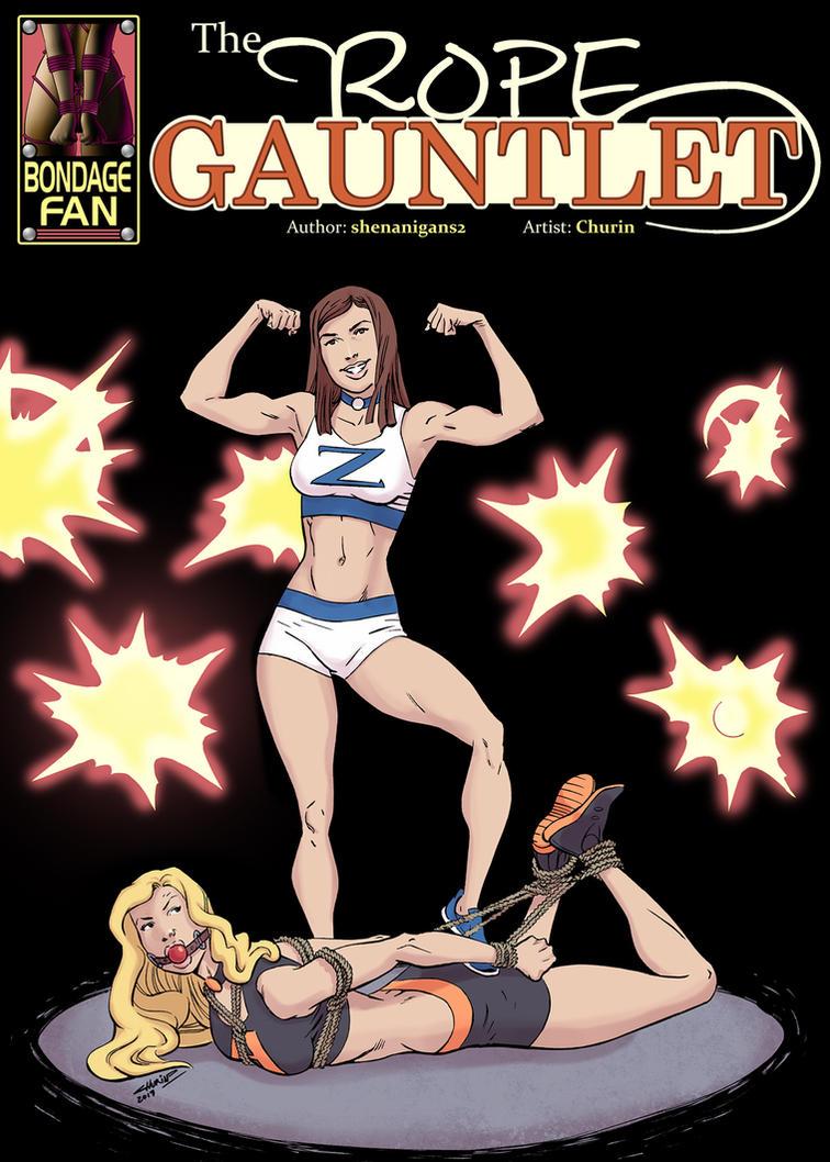 The Rope Gauntlet - Bondage Wrestling Extravaganza by bondage-fan-comics
