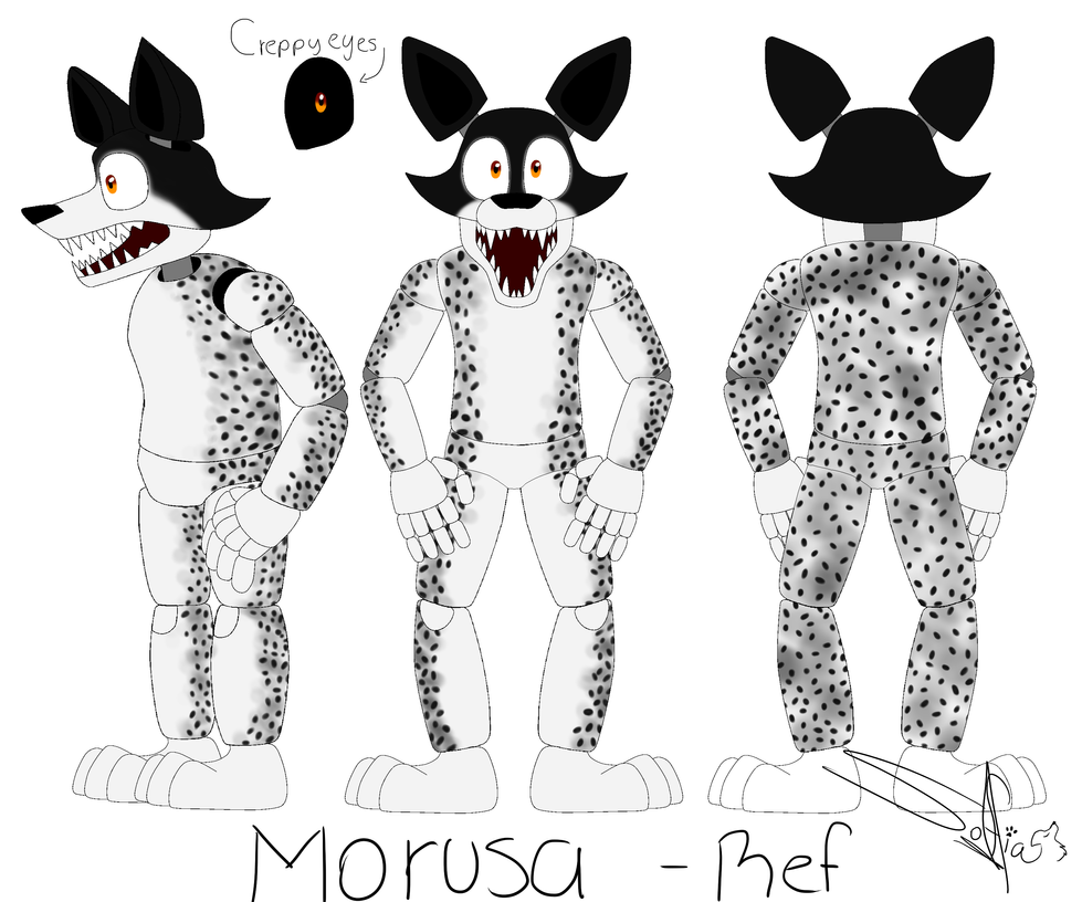 Morusa - Oc Ref by Drawings-SofiaWolf