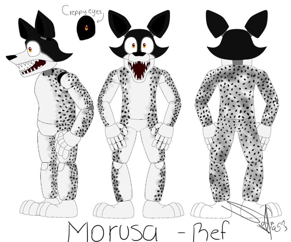 Morusa - Oc Ref by Drawings-SofiaWolf