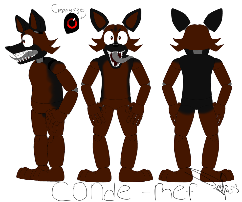 Conde - Oc Ref by Drawings-SofiaWolf
