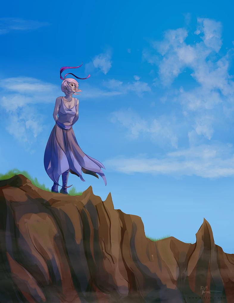 She's Like The Wind by EleganceLiberty