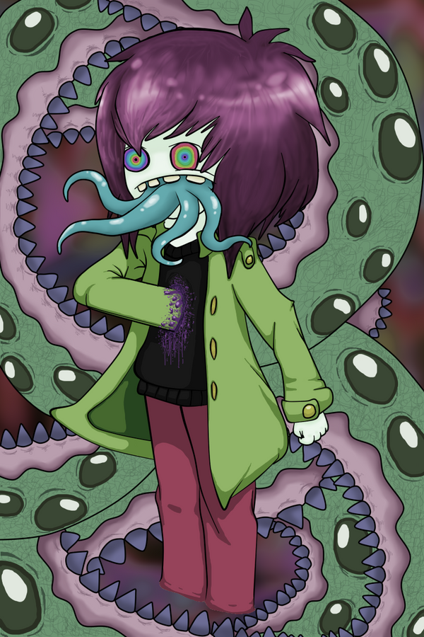 Monstrous hallucination (Dirty colors) by O-Ghostblack