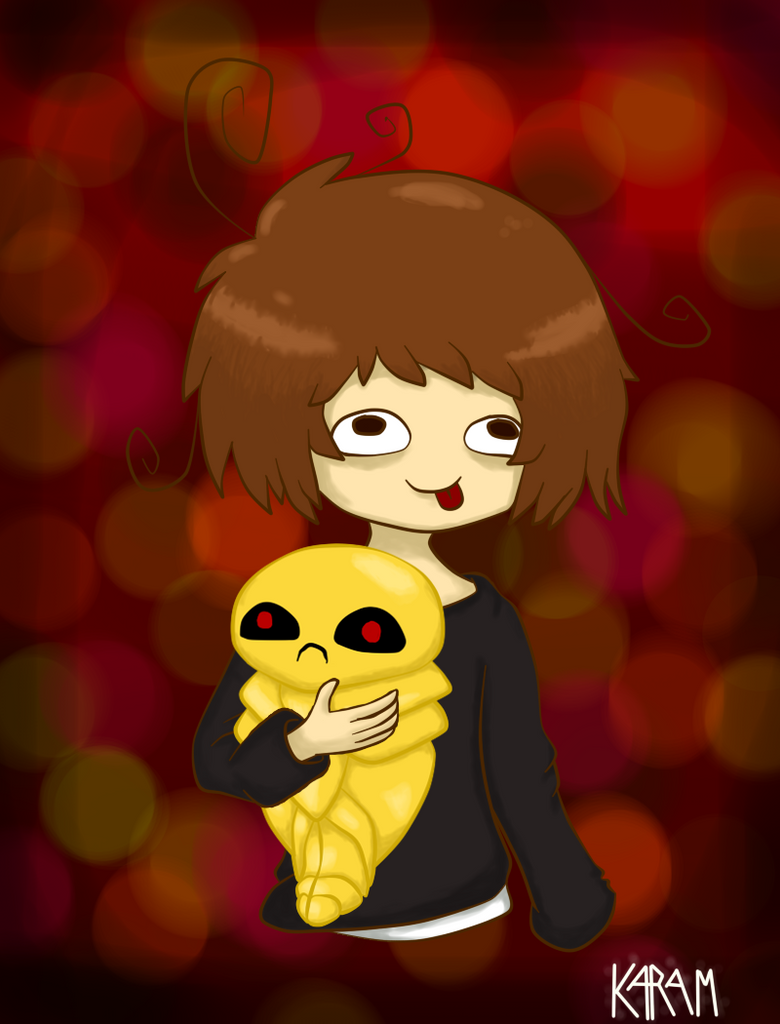 Me and my kakuna by O-Ghostblack
