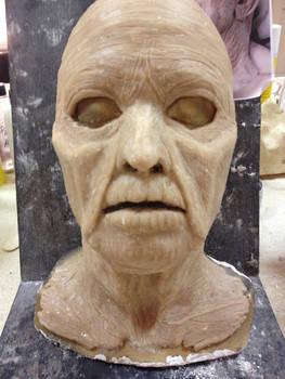 Facial Prosthetics sculpture