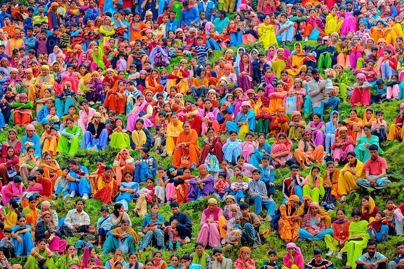 Colorful India by poraschaudhary