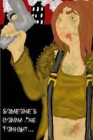 Kuro The Zombie Zombie Slayer by DerangedFaerieInc