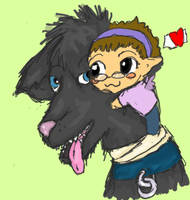 I love My Wolfie. by DerangedFaerieInc
