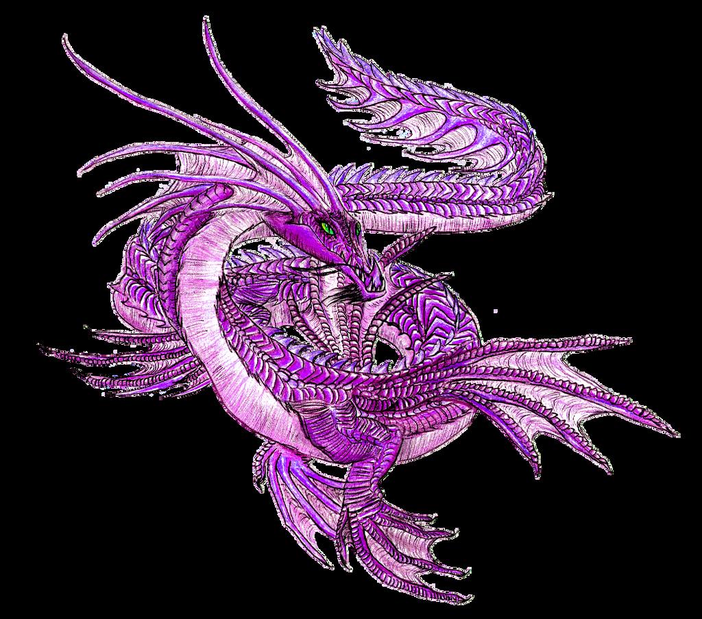 Spirit Day Sea Dragon by awesomedarkdragon
