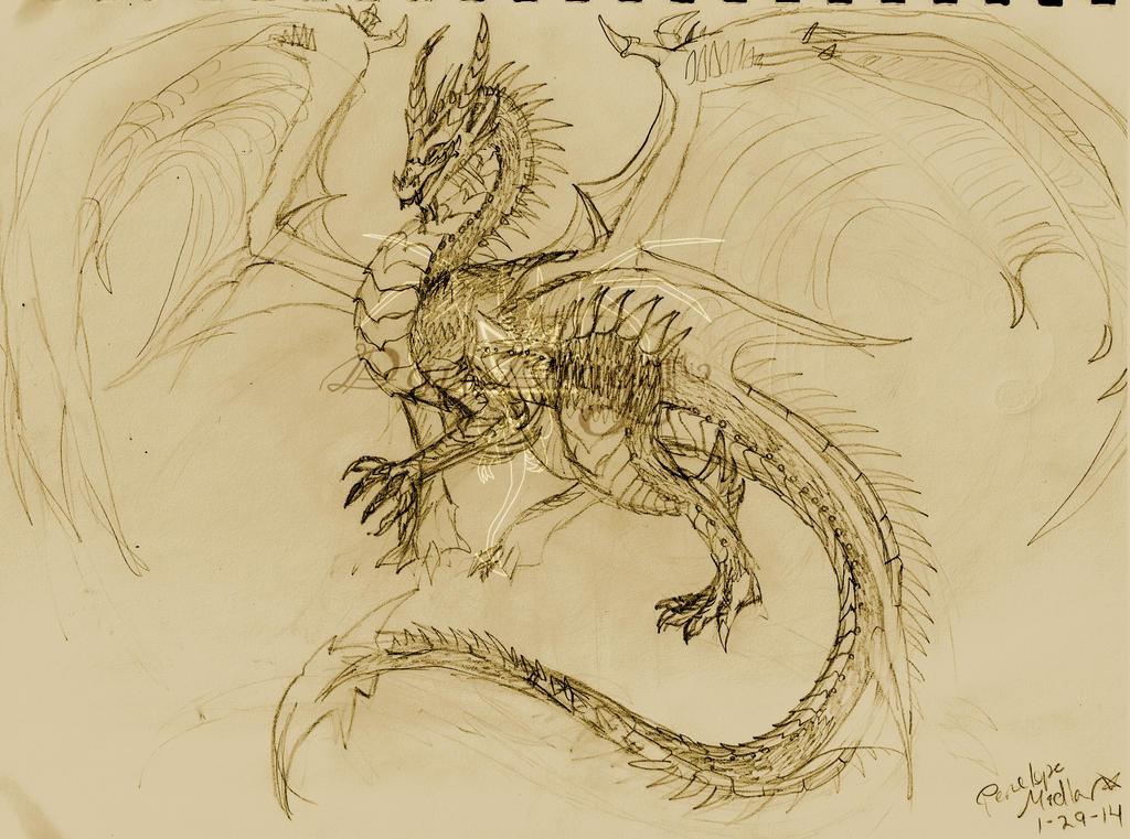 Nazzerith Sketch by awesomedarkdragon