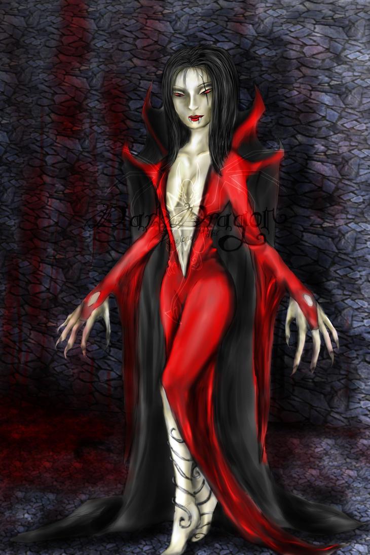 Vampire by awesomedarkdragon