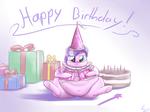 Happy Birthday, Chubby Diamond Tiara!