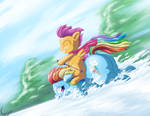 Squishy Sleigh Ride