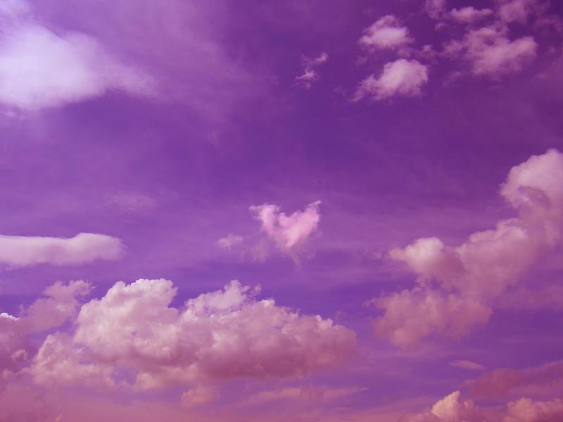 cloudy purple wallpaper - photo #36