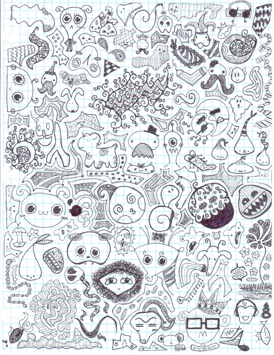 Doodle Page 1 By Closet Fish On DeviantArt