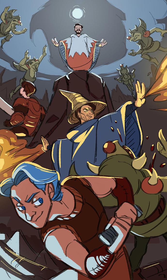 Projared Final Fantasy Fanart by Rocai-Media