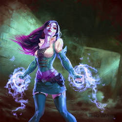Age Of Champions Arcane Pugilist by anotherdamian