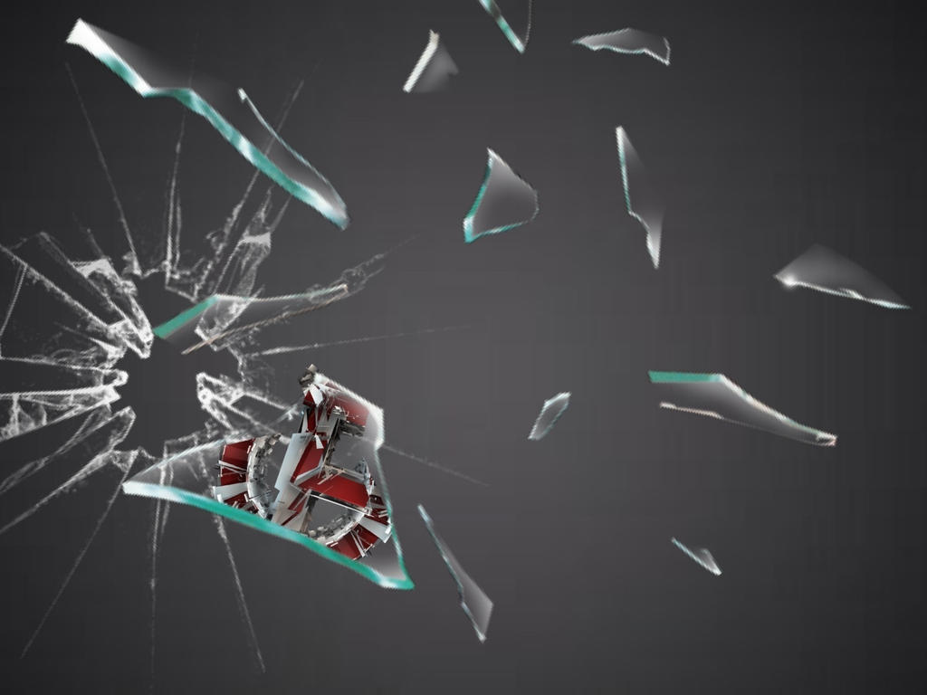 Free feint clan broken glass wallpaper by feint clan for What to do with broken mirror pieces
