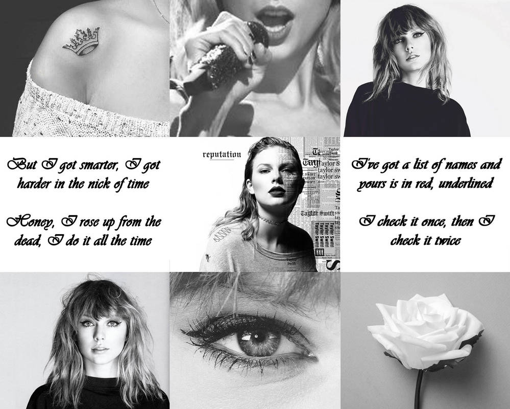 Taylor Swift Black And White By Snowqueengh On Deviantart