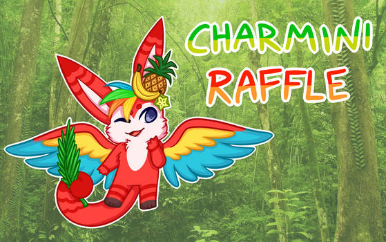 CLOSED Charmini Raffle! - Tropical Parrot