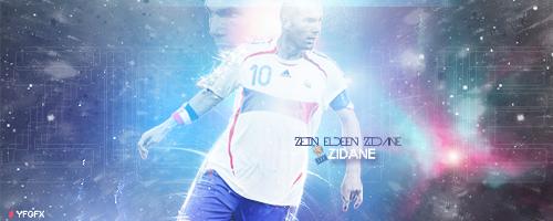 Zidane by YFGFX