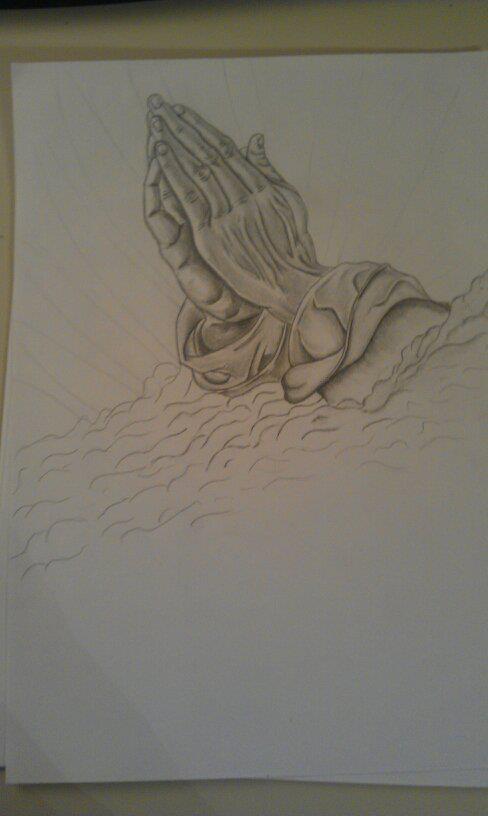 Praying Hands Pencil by azorica3 on DeviantArt