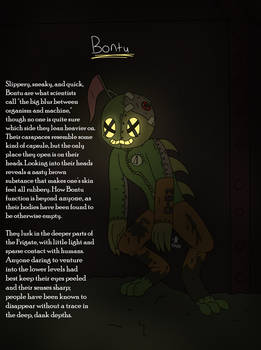 Creature Profile - Bontu