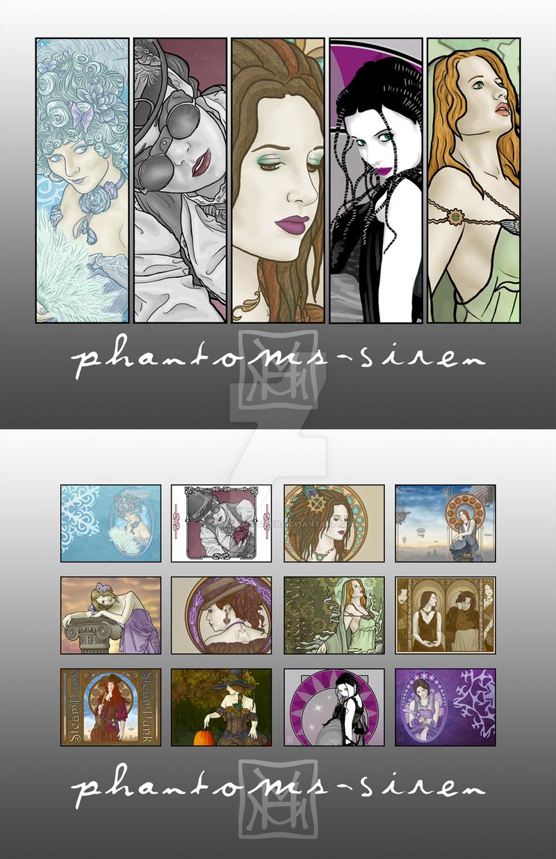 Art of Phantoms Siren Calendar by phantoms-siren