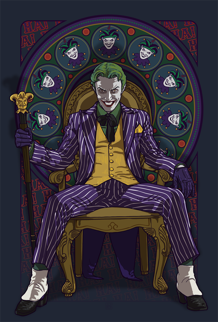 Joker Nouveau by phantoms-siren