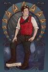 Steampunk Star Trek Captain