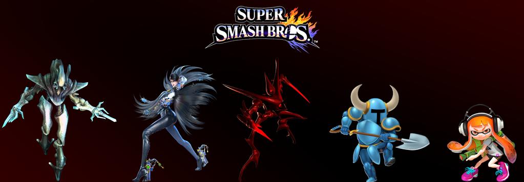 Super Smash Bros Fighter Ballot by SuperMetroid2