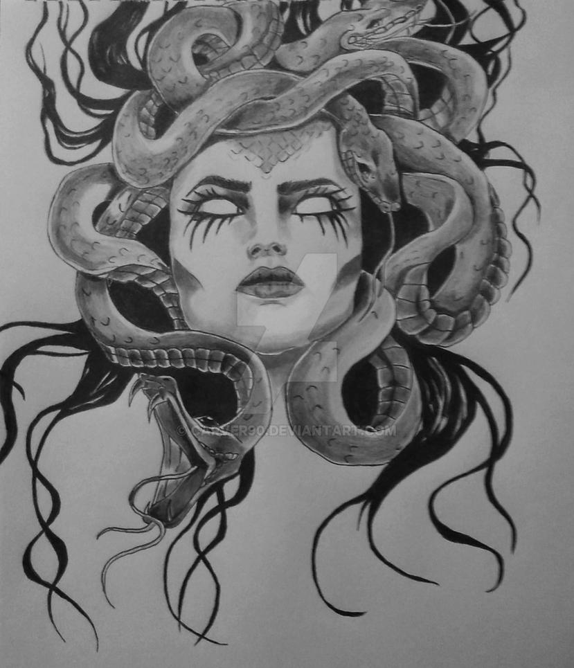 Medusa Gorgona by carver90