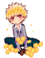 Smol Katsuki  ||Pagedoll by Where-Lies-Goes