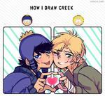 How I draw Creek