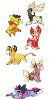 RARE Wyngling Adoptables Batch 2 [CLOSED] by Pannzilla