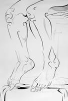 Figure In Line II by lantairvlea