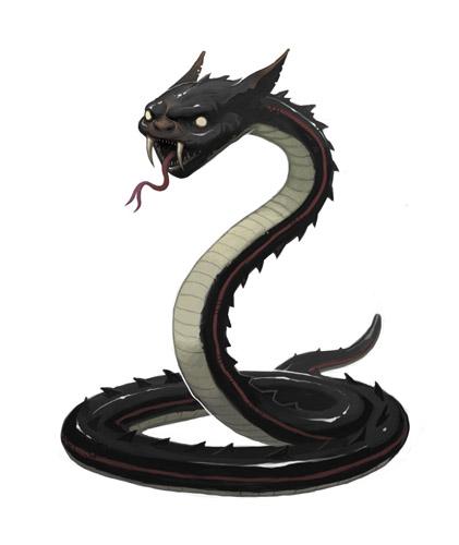 Goblin Snake by nJoo