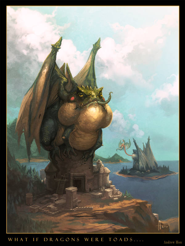 What If Dragons were Toads... by nJoo