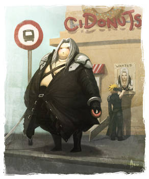 Final Fat-assy - Sephiroth
